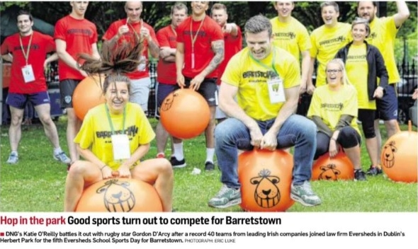 DNG supporting Barretstown