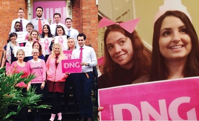 DNG supporting Breast Cancer Ireland